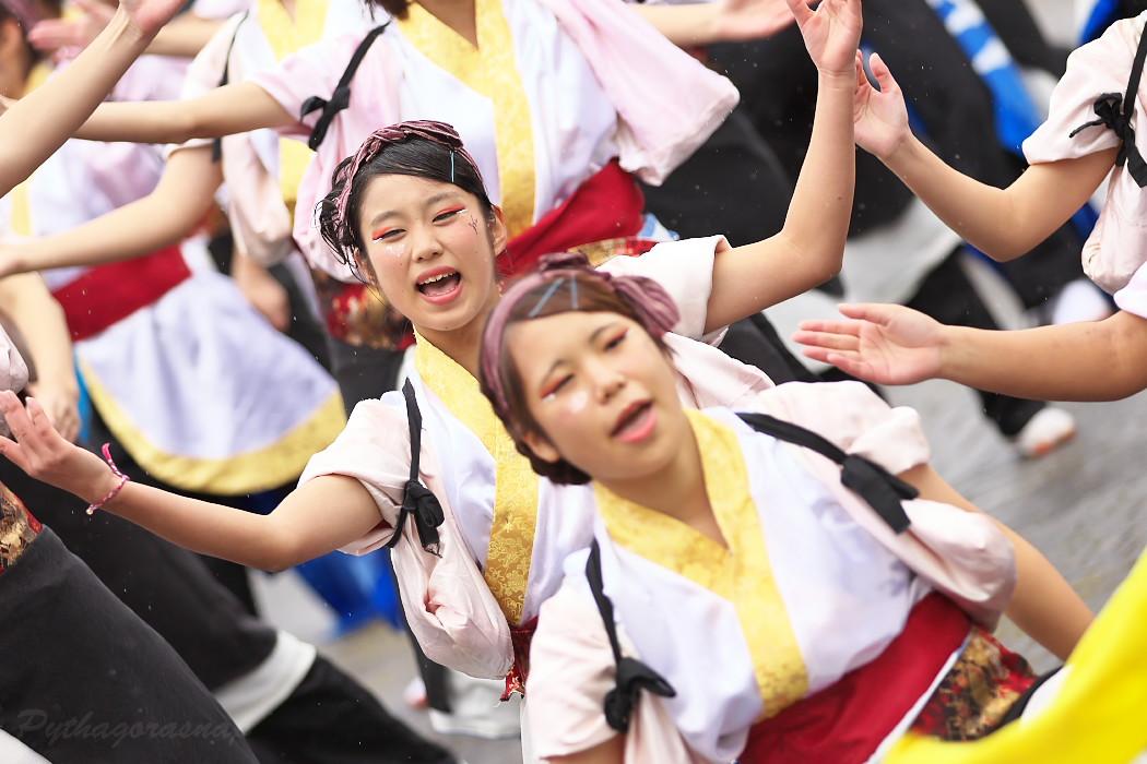 名古屋大学 快踊乱舞 @ 第12回四日市よさこい祭り~やったろ舞~_c0187584_1117710.jpg