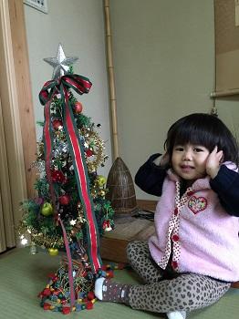 12月になりました~☆ クリスマスツリー準備でちゅ~!!_e0123286_1945592.jpg