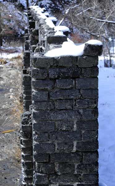 足尾のカラミ煉瓦塀_f0173596_10410794.jpg