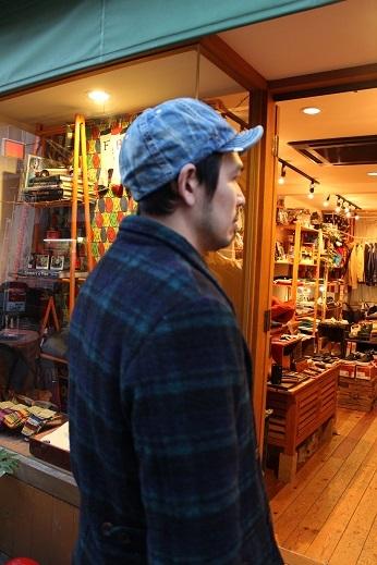 """ANACHRONORM \""""BEAT INITIALCAPS by DECHO\"""" CHINO & DENIM CAP ご紹介 _f0191324_08424458.jpg"""