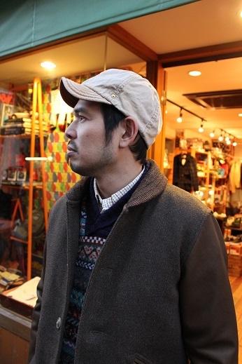 """ANACHRONORM \""""BEAT INITIALCAPS by DECHO\"""" CHINO & DENIM CAP ご紹介 _f0191324_08430616.jpg"""