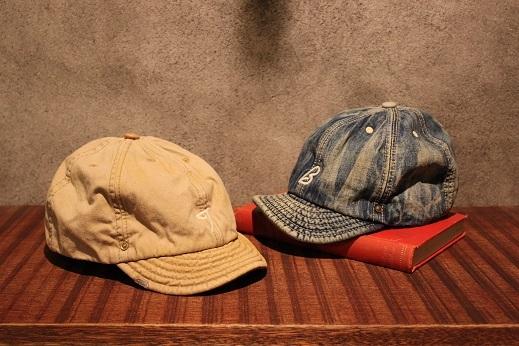 """ANACHRONORM \""""BEAT INITIALCAPS by DECHO\"""" CHINO & DENIM CAP ご紹介 _f0191324_08433627.jpg"""
