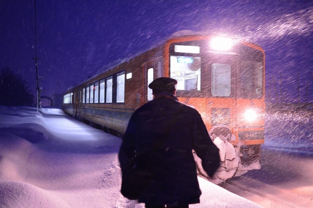 冬になると 津軽鉄道_f0050534_12150745.jpg