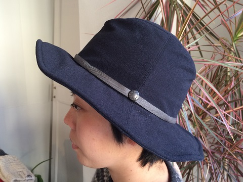 THE NORTH FACE PURPLE LABEL : Flannel Wire Hat_a0234452_20244836.jpg