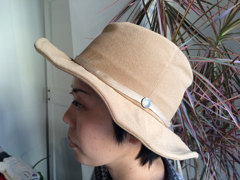 THE NORTH FACE PURPLE LABEL : Flannel Wire Hat_a0234452_2024489.jpg