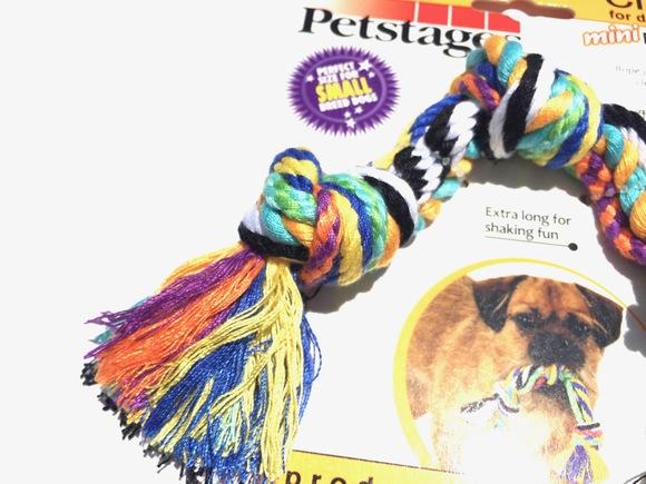 Petstages Mini Multi Rope Chew  ペットステージ ミニ マルチロープ チュー_d0217958_1133556.jpg