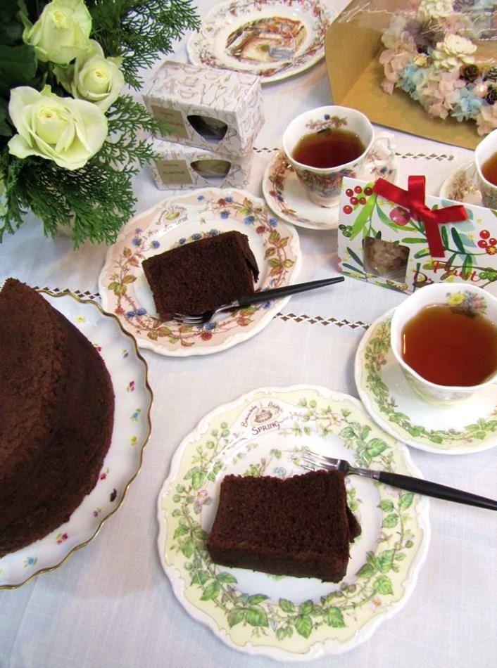 永遠の命のリースと Afternoon Teaのお紅茶で 心癒すティータイム☆ ハウス3から ミニミニテディが bon noel(ボン・ノエル)。。。.☆*:.。.☆*†_a0053662_19323508.jpg