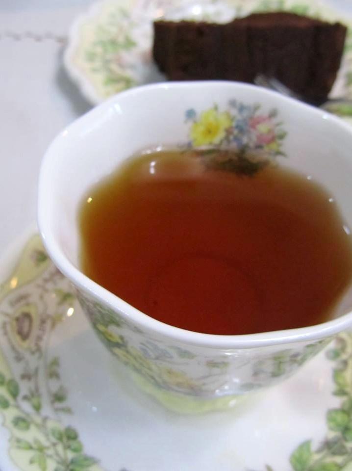 永遠の命のリースと Afternoon Teaのお紅茶で 心癒すティータイム☆ ハウス3から ミニミニテディが bon noel(ボン・ノエル)。。。.☆*:.。.☆*†_a0053662_20282848.jpg