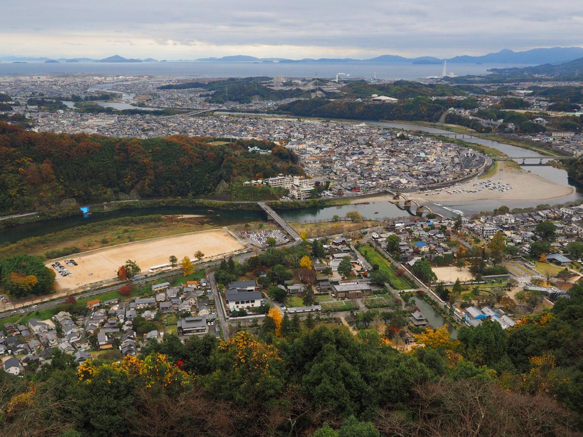 錦帯橋と岩国城_d0283373_1725528.jpg