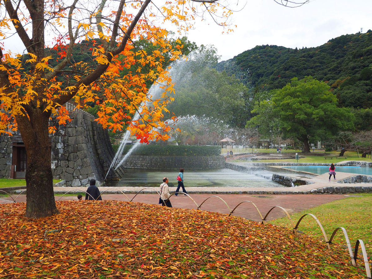 錦帯橋と岩国城_d0283373_1731472.jpg