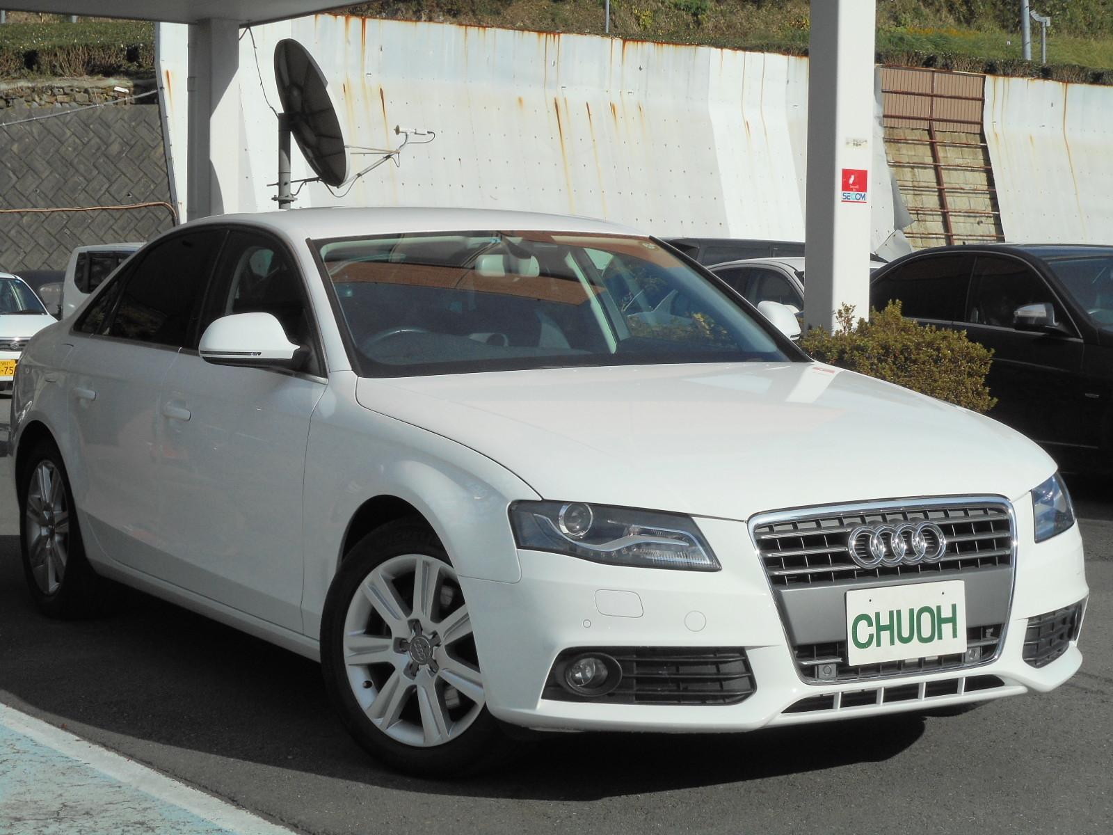 広告掲載車:アウディA4_c0267693_09595848.jpg