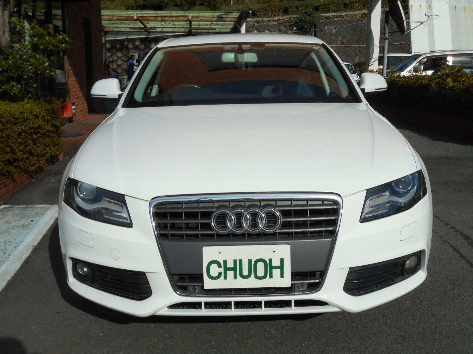 広告掲載車:アウディA4_c0267693_10000859.jpg