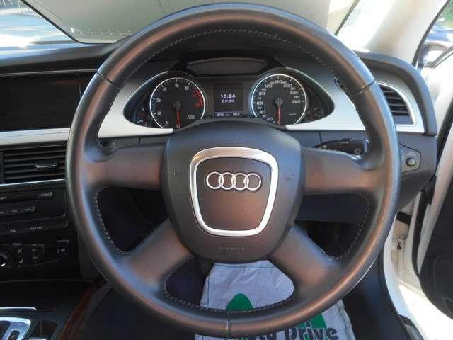 広告掲載車:アウディA4_c0267693_10012775.jpg