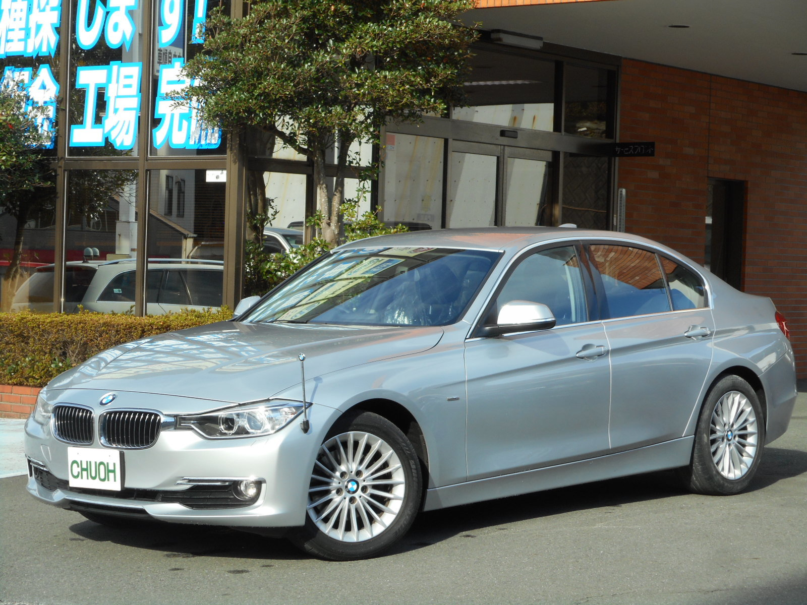 広告掲載車:BMW320d_c0267693_10065348.jpg