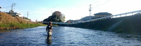富士の湧水 ライズ日和_f0266202_16101242.jpg