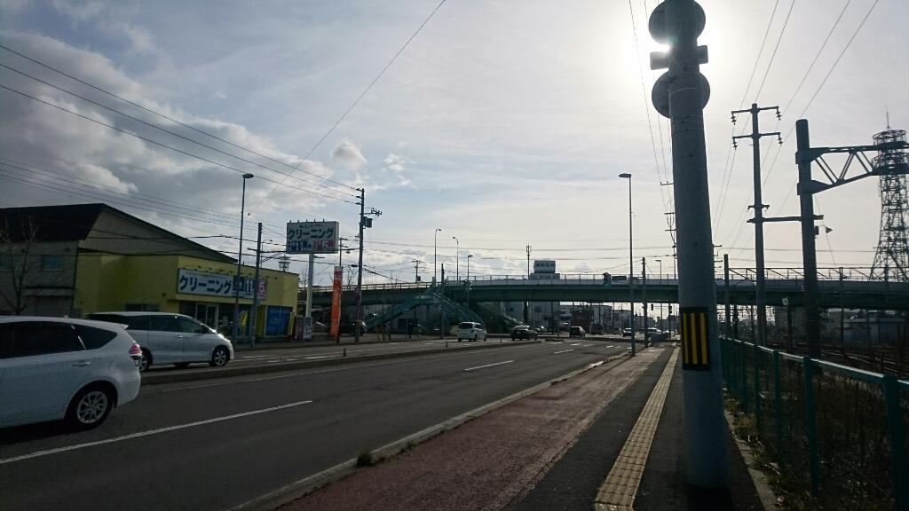 自転車で函館蔦屋書店から五稜郭駅へ_b0106766_22425097.jpg