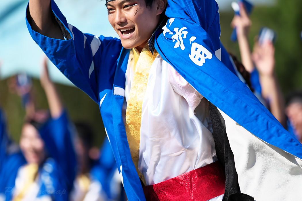 名古屋大学 快踊乱舞 @  第10回碧南よさこいやってみりん祭_c0187584_17455145.jpg