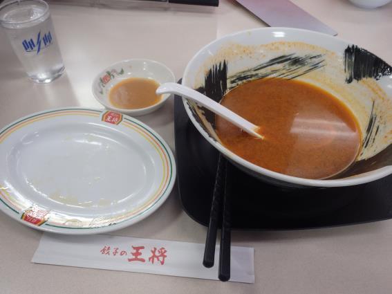 餃子の王将      尼崎インター店_c0118393_12344611.jpg
