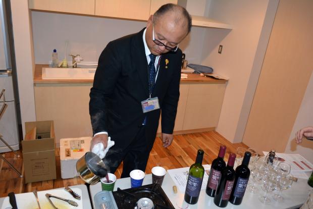 野田村プチよ市のあとは、のだワイン会なのだ☆_c0259934_16505033.jpg