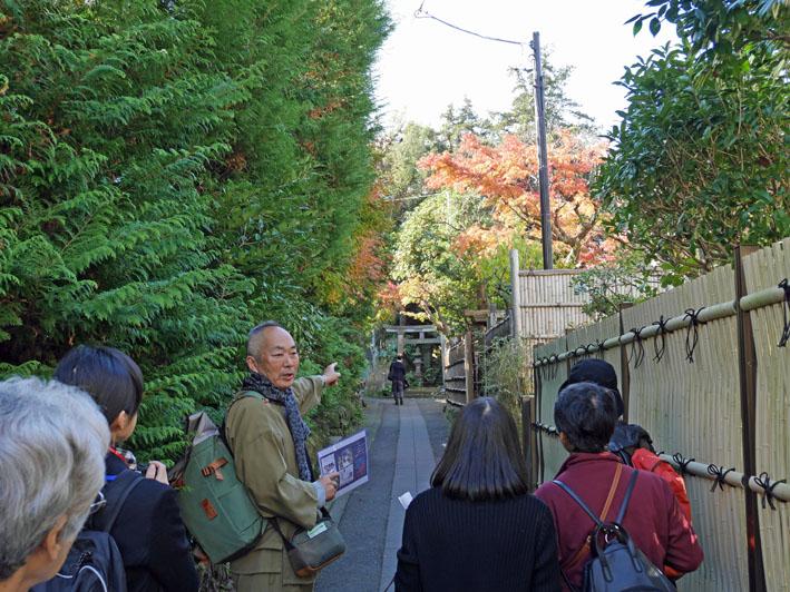 地元ジャーナリストと探る北鎌倉の紅葉12・3~4_c0014967_9422411.jpg