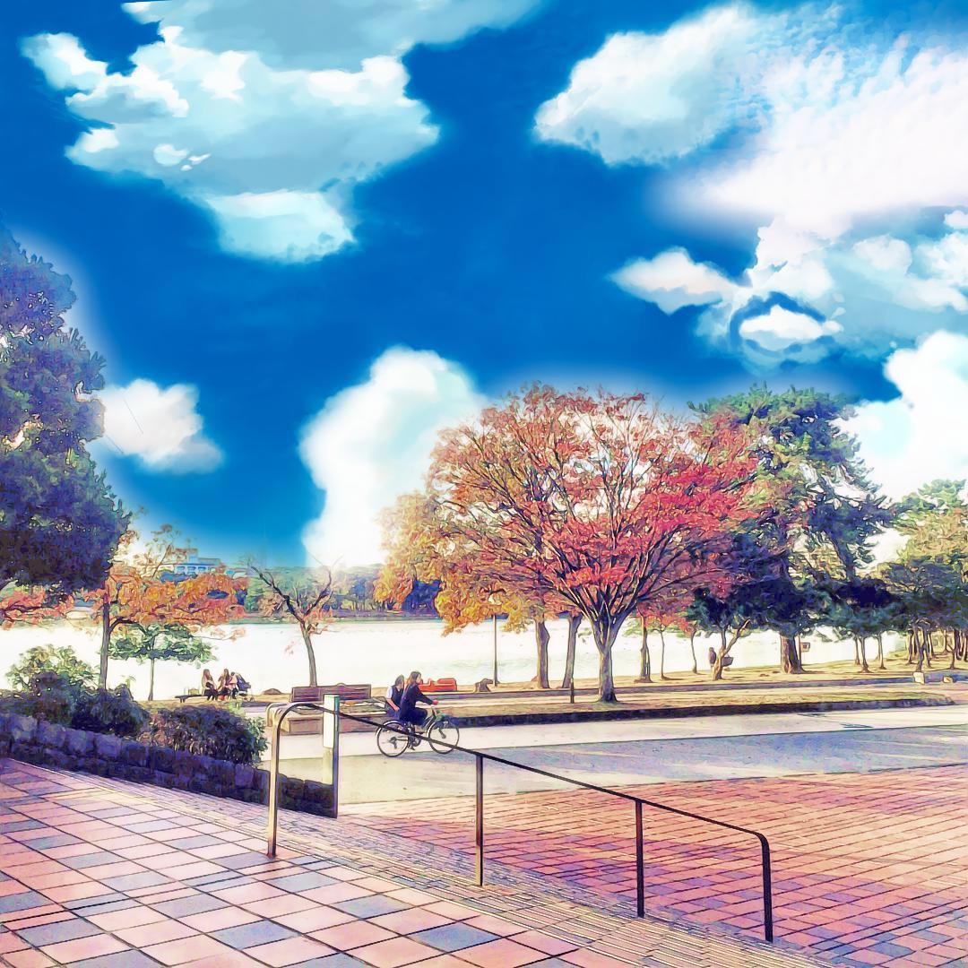 大濠公園 アニメver._d0116009_1428486.jpg