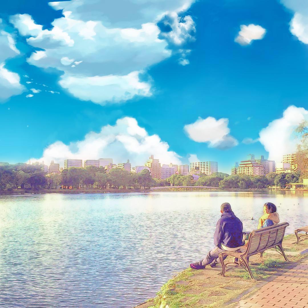 大濠公園 アニメver._d0116009_14295196.jpg