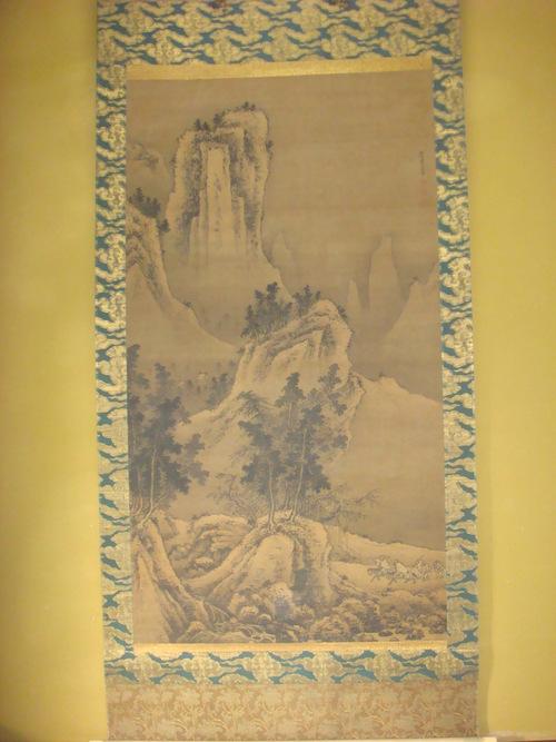 特別公開・戴文進筆「絹本着色春冬山水図」_f0101949_9304519.jpg