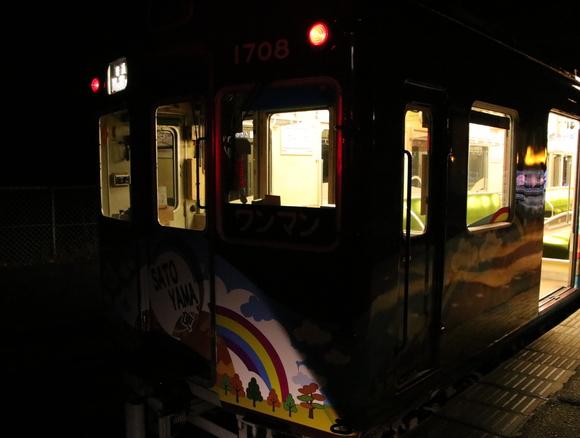 能勢電 イルミネーション 妙見口駅にて!_d0202264_2015513.jpg