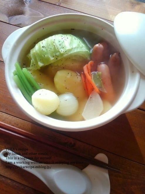 12.6 干し野菜でポトフ_e0274872_07424276.jpg