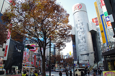 12月6日(火)今日の渋谷109前交差点_b0056983_19515844.jpg