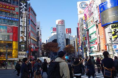 12月6日(火)今日の渋谷109前交差点_b0056983_19520053.jpg