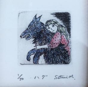 『マダム松本の育児書』という連作版画がありまして・・・_b0010487_19215975.jpg