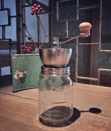 2階ギャラリーに新たな仲間、『Kilner Coffee Grinder Jar』他色々_f0077789_1092547.jpg
