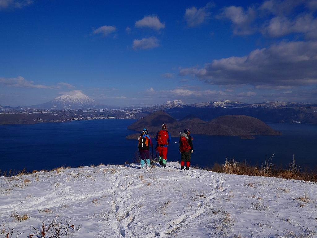 有珠山、12月3日-その1-_f0138096_17384124.jpg