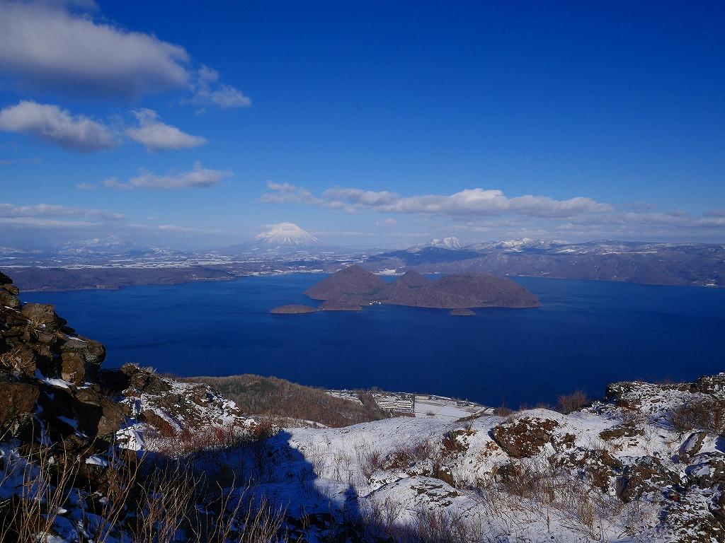 有珠山、12月3日-その1-_f0138096_17393434.jpg