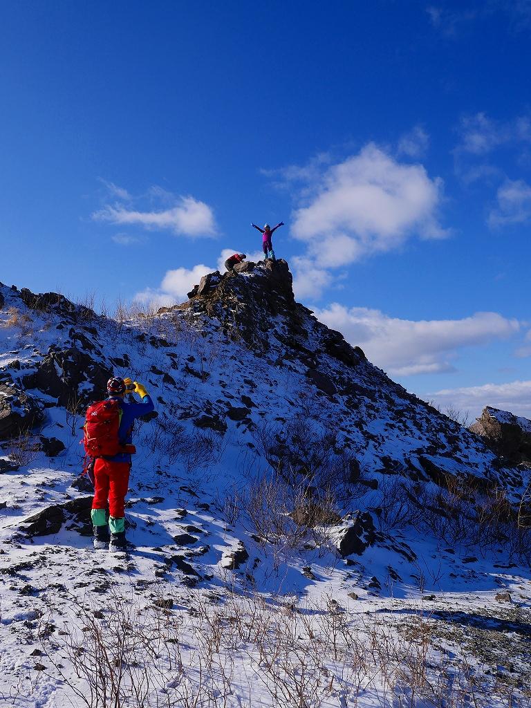 有珠山、12月3日-その1-_f0138096_17395978.jpg