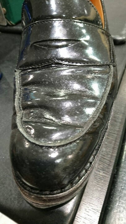 黒い靴の汚れは目立つ!_b0226322_20560636.jpg