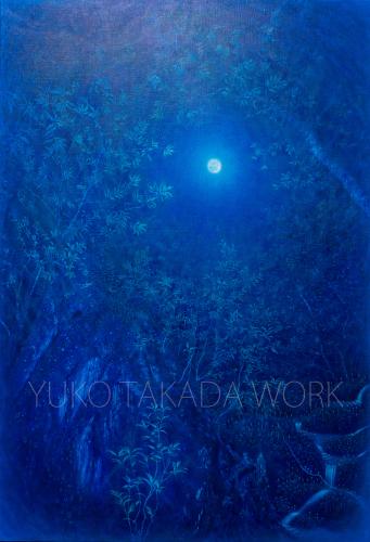 満月の夜の森の作品、完成しました!!_b0240382_19313882.jpg