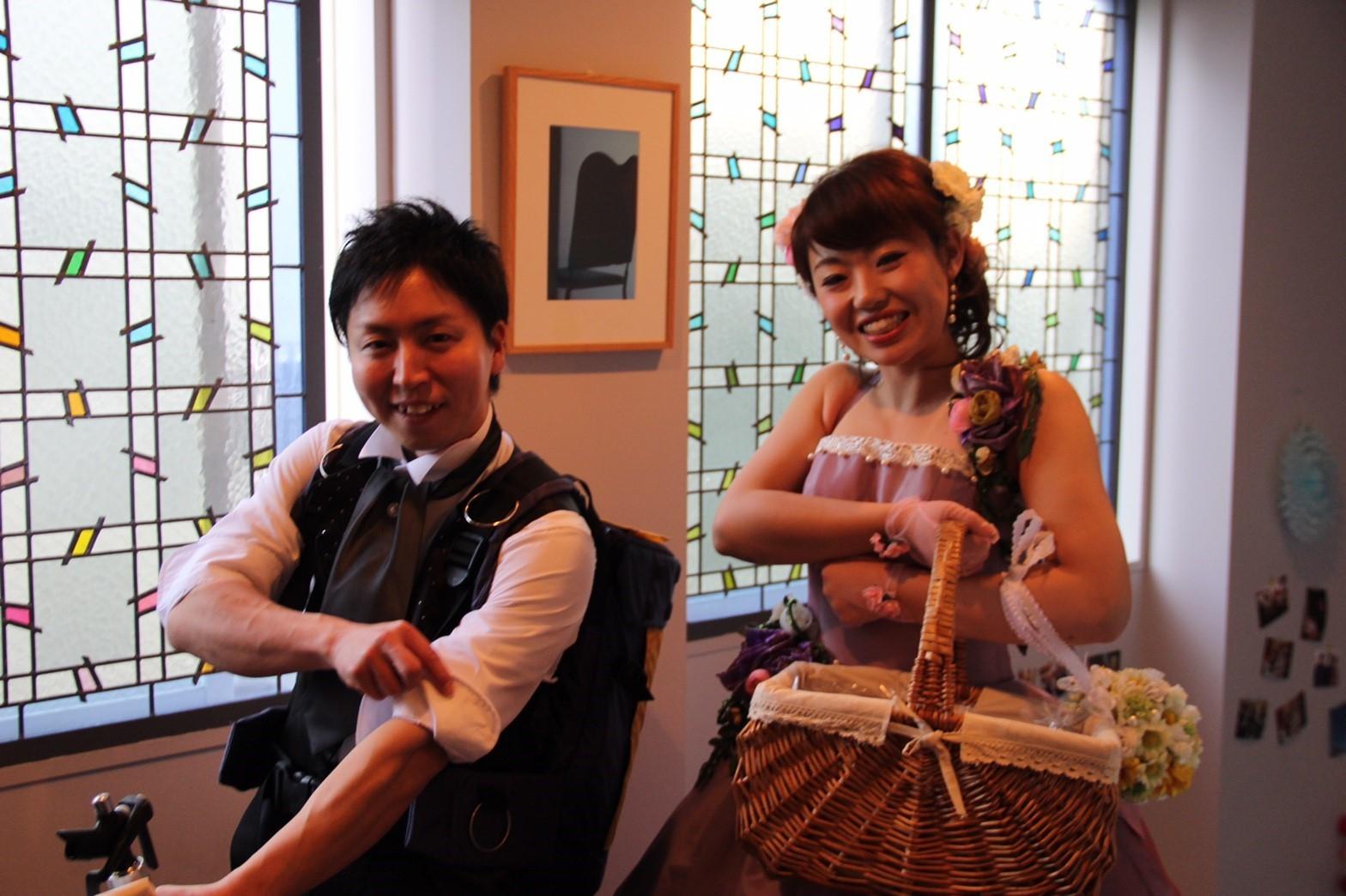 Happy Wedding!!K&N~花嫁支度はお母さん♡_e0120789_15303948.jpg