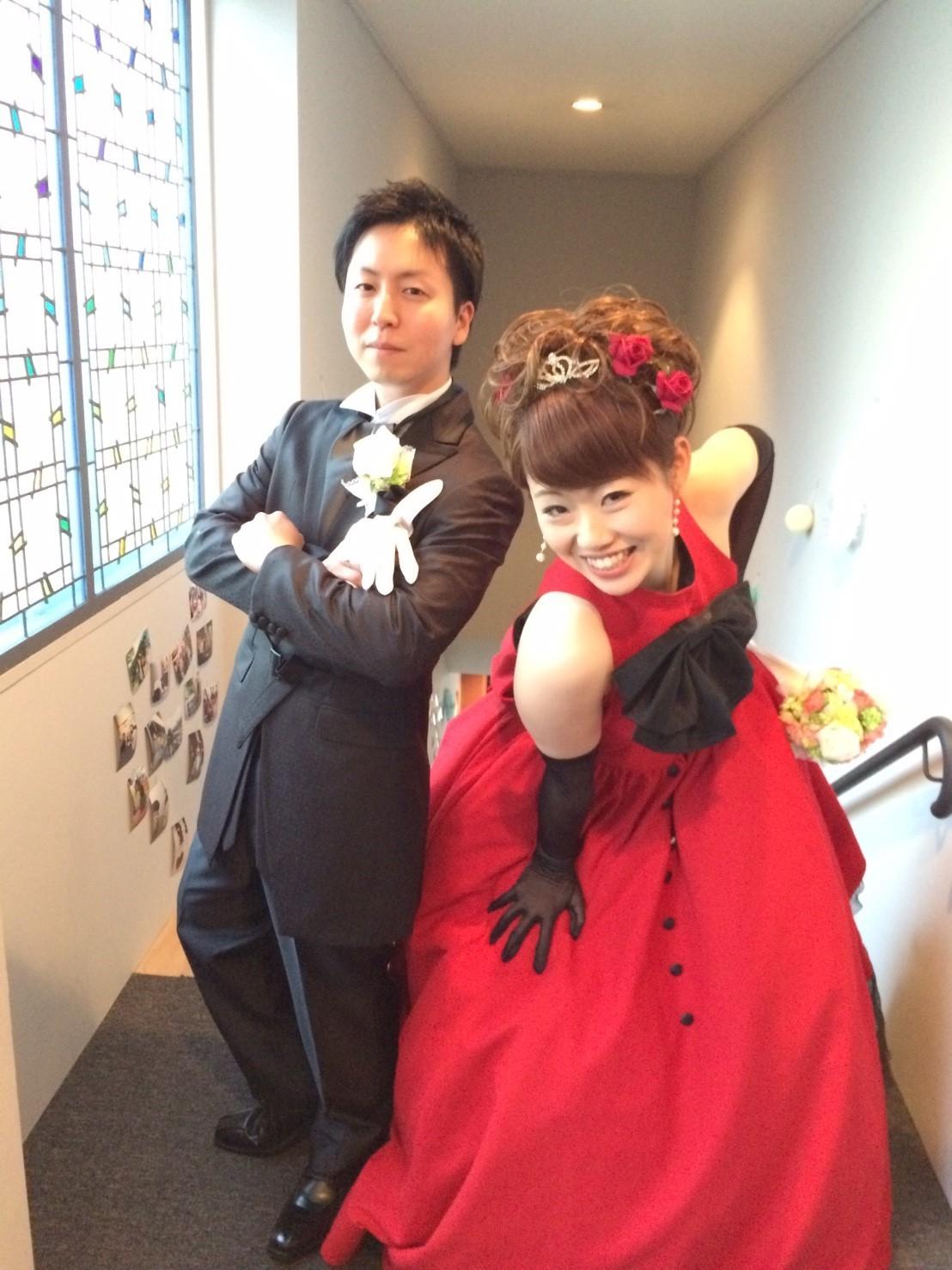 Happy Wedding!!K&N~花嫁支度はお母さん♡_e0120789_16325080.jpg