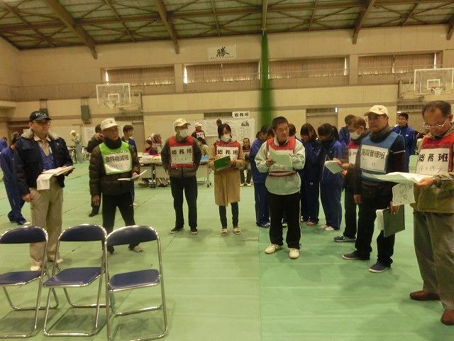 今年は吉高新聞部が訓練の様子を新聞として発行  4回目の「吉原高校避難所開設・運営訓練」_f0141310_8692.jpg