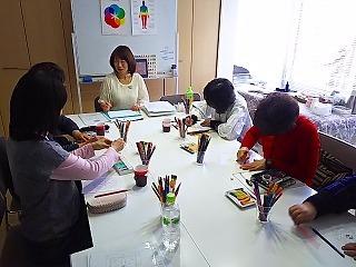 『マンダラぬりえでカラーセラピー@名古屋』レポート①_c0200917_11212645.jpg
