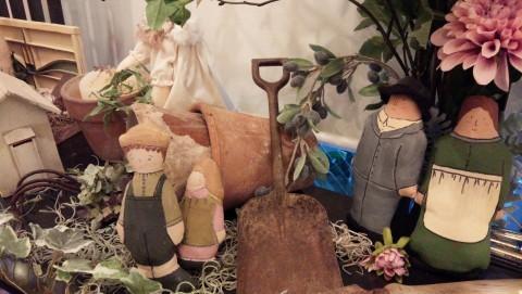 毛塚千代さんの仲間展と越前屋でのお買物♪_f0374160_21343242.jpg