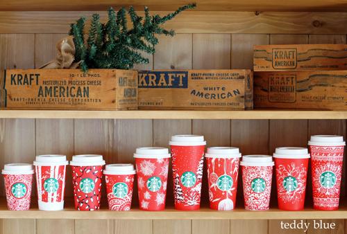 Starbucks red holiday cups  スターバックス レッドホリデーカップ_e0253364_10391563.jpg