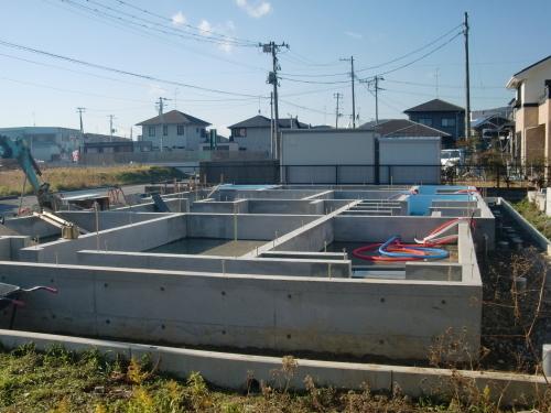 石巻市伊勢町 新築二世帯住宅建設中_e0357165_19111208.jpg