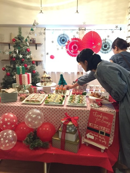 『クリスマスキッズパーティ 』美的生活掲載されています。_f0173771_07573756.jpg