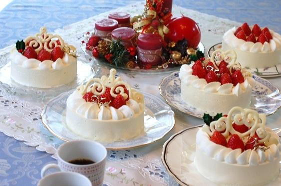 クリスマスケーキ2015から遡って10数年分一挙公開~^^_e0071324_19075587.jpg