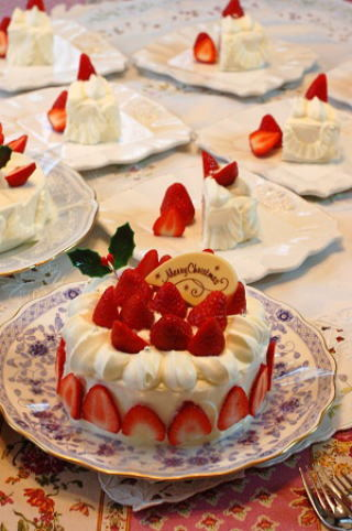クリスマスケーキ2015から遡って10数年分一挙公開~^^_e0071324_19083186.jpg