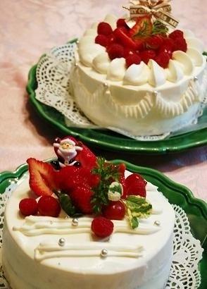 クリスマスケーキ2015から遡って10数年分一挙公開~^^_e0071324_19504156.jpg