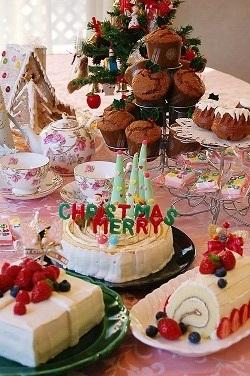 クリスマスケーキ2015から遡って10数年分一挙公開~^^_e0071324_19541228.jpg